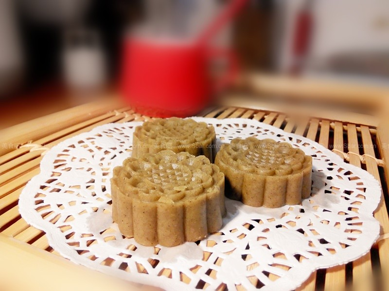 麻油绿豆糕