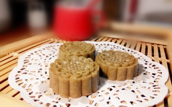 麻油绿豆糕(清热解暑夏季甜点)