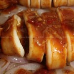 平底鍋烤魷魚