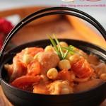 番茄蓮子蹄花(滋補養顏菜譜)