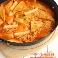 韩式辣年糕泡面火锅