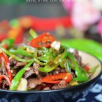 杭椒牛肉(清爽滑嫩的江南小炒)