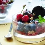 樱桃冰淇淋、芒果冰淇淋(甜品)