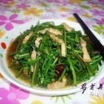 肉炒蕨菜(解密舌尖2秘境美食)