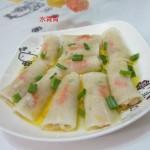 清蒸水晶萝卜卷(清蒸菜)