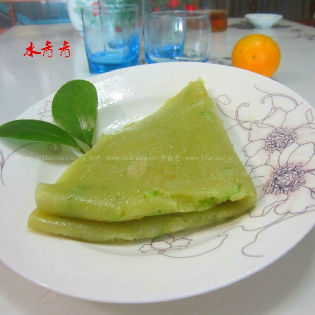 蜂蜜苦瓜汁煎饼