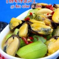 貽貝炒絲瓜
