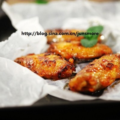 浓香烤鸡翅