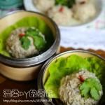 糯米豆腐圆子(清蒸菜)