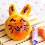 超萌小兔豆沙包(儿童节为孩子做的面包)