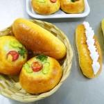 小餐包和热狗包(早餐菜谱)