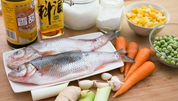 脆皮浇汁华子鱼