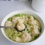 粤式经典小吃鲜虾云吞面(解密舌尖2秘境)