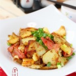 香煎培根土豆