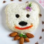 小熊三明治(早餐菜谱)