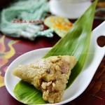 蛋黄板栗肉粽(包粽子的方法与步骤)