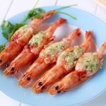 蒜蓉烤虾(烤箱菜)