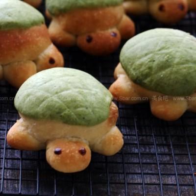 逗趣小乌龟面包