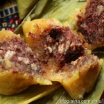 福建特色的红豆碱粽(包粽子的方法与步骤)