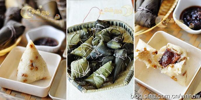 绿豆腊排骨肉粽