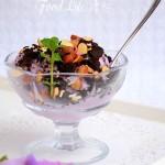 奥利奥紫薯冰淇淋(甜品)
