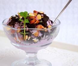 奥利奥紫薯冰淇淋