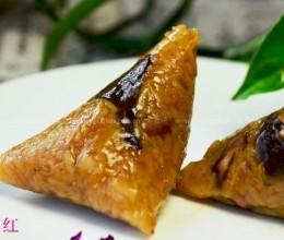 腊肉松蘑粽