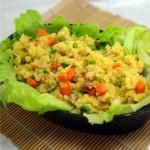 炒小米饭(早餐菜谱)