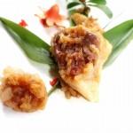 大肉粽(端午节如何包粽子)