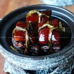 粽叶扎肉(老上海特色菜谱)