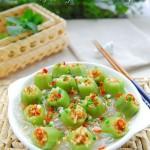 蒜蓉粉丝蒸丝瓜(清蒸菜)