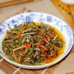 青椒炒膳絲