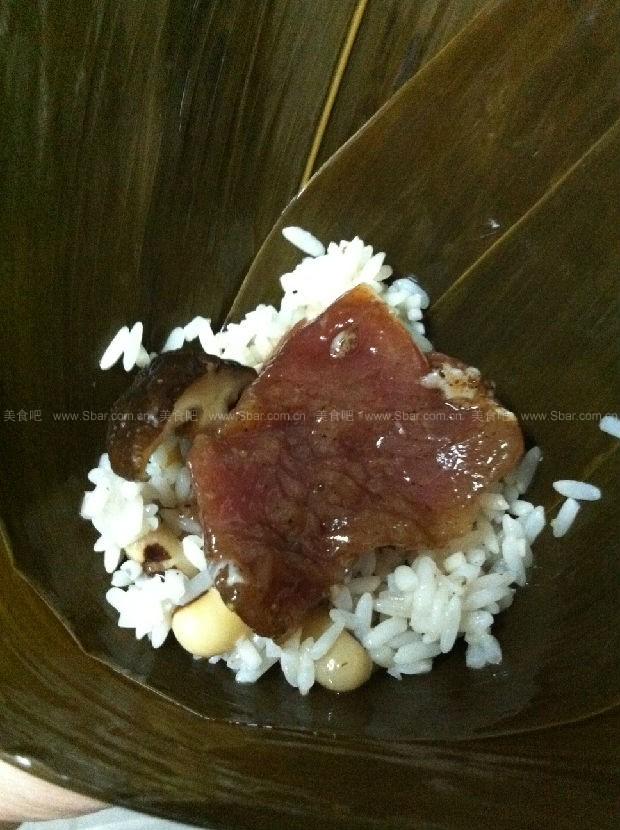 端午咸肉粽