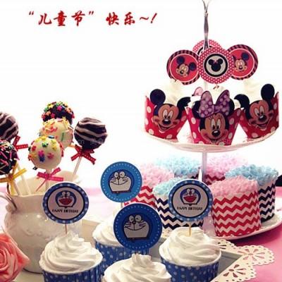 杯子蛋糕&棒棒糖蛋糕