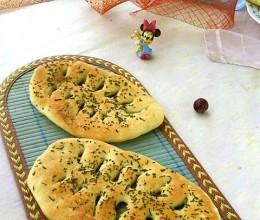 迷迭香叶形烤饼