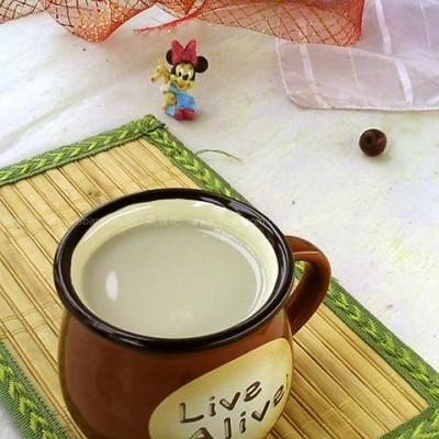 红枣绿豆豆浆