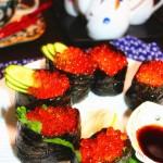 鮭魚子軍艦卷(早餐菜譜)