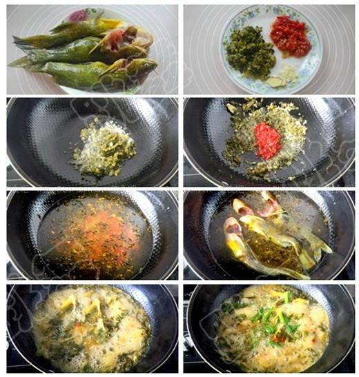 盐酸菜煮黄腊丁