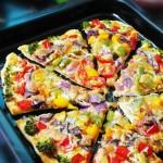彩虹披萨(下午茶)