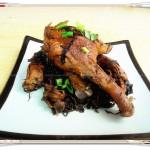 梅干菜蒸鸭腿(江南名菜)