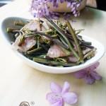 香肠炒蕨菜(解密舌尖2秘境)