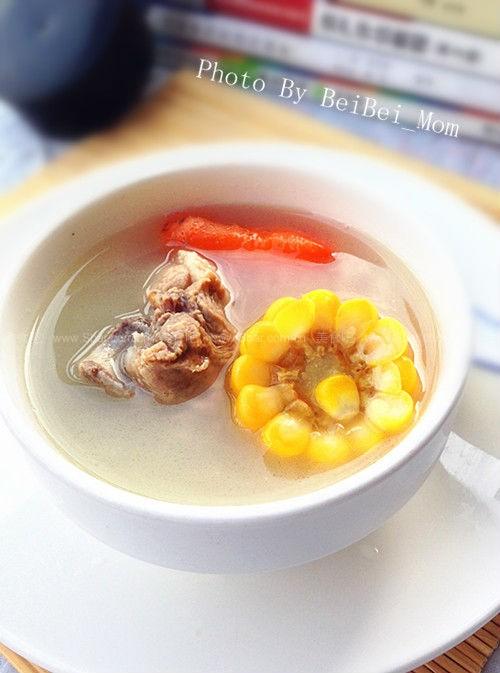 红萝卜玉米汤