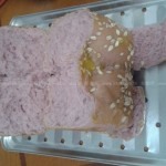 紫薯牛奶土司(面包机食谱)