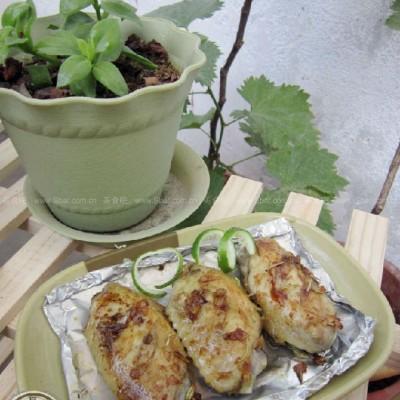 迷迭香黑椒烤鸡翅