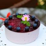 蓝莓慕斯蛋糕(甜品点心)