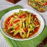 金针菇拌黄瓜(高考食谱)