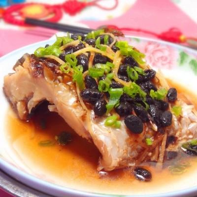 豆豉蒸腊鱼