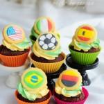 世界杯小蛋糕(烘焙世界杯)