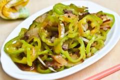 青椒炒腌肉