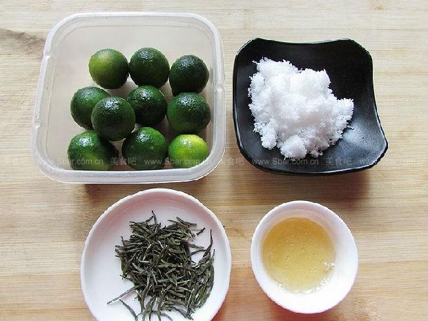 自制冰桔茶